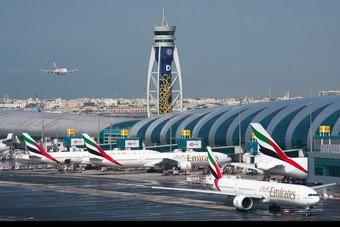 توقعات بانخفاض حركة السفر عبر مطار دبي بنحو  70% في العام الجاري