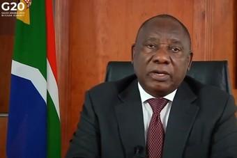 رئيس جنوب أفريقيا: إجماع في مجموعة العشرين على أن الوصول إلى لقاح فعال لفيروس كورونا يجب أن يكون عالميا