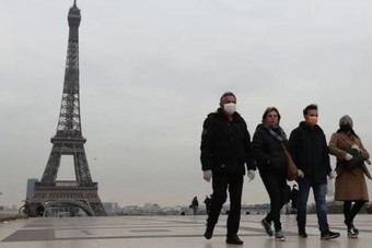 ارتفاع إصابات كورونا في فرنسا 13157 حالة خلال 24 ساعة