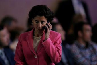 """مرشحة التجارة الأمريكية تتعهد بحماية الشبكات  من """"هواوي"""""""