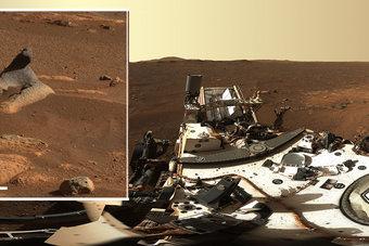 ناسا تنشر صورة بانورامية من المريخ تظهر قمة فوهة جيزيرو التي كانت تحوي بحيرة يصب فيها نهر قبل 3.5 مليار سنة