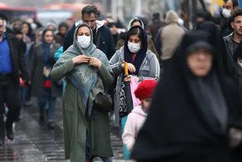 94 حالة وفاة و 8206 إصابات جديدة بكورونا في إيران