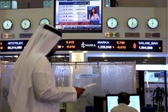 البورصات الخليجية تمحو خسائرها المبكرة ..  والأسهم العقارية تدعم مؤشر دبي
