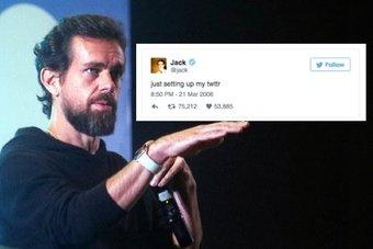 """مؤسس """"تويتر"""" يبيع أول تغريدة مقابل 2.9 مليون دولار"""