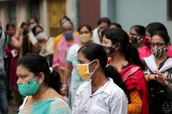 الهند تسجل رقما قياسيا جديدا في إصابات كورونا وأعلى عدد للوفيات منذ 5 أشهر