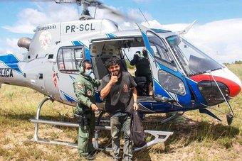 برازيلي يصمد 38 يوما في أدغال الأمازون بعد سقوط طائرته