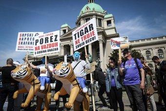التوسع في التنقيب عن المعادن يثير غضب المحتجين في صربيا