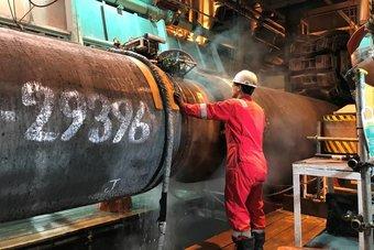 بايدن: تصدير الغاز الروسي إلى أوروبا قضية معقدة تؤثر في حلفاء المنطقة