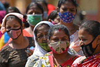 زيادة يومية قياسية أخرى لإصابات كوفيد-19 في الهند.. احتلت المركز الثاني