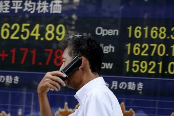 الأسهم اليابانية ترتفع إلى أعلى مستوى في أسبوعين