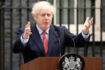 رئيس وزراء بريطانيا يعلن السيطرة على جائحة كورونا