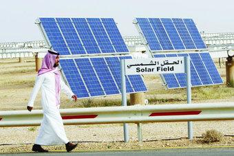"""غرفة الرياض : استثمارات مشاريع برنامج """"الطاقة المتجددة"""" قد تصل إلى 60 مليار ريال"""