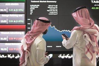 الأسهم السعودية ترتفع للجلسة الثالثة وتقترب من مستوى 10,000 نقطة