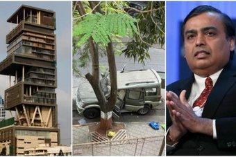 مومباي تكشف وجهها القبيح .. سيارة مفخخة تستهدف موكيش أمباني