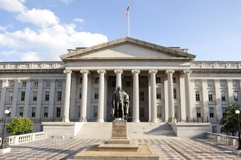 الخزانة الأمريكية تعتزم بيع سندات بقيمة 120 مليار دولار