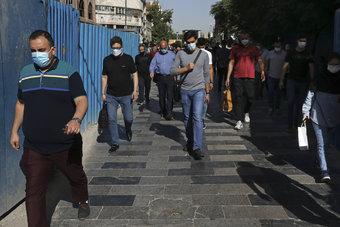 إصابات فيروس كورونا في إيران تتجاوز عتبة 3 ملايين حالة