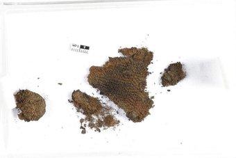 اكتشاف نسيج من عصر الفايكنج ..عمره 1000 عام