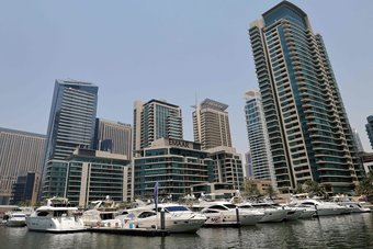 اليخوت الفارهة في مياه دبي ملاذ الهاربين من تهديدات كورونا في البر