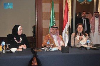 مجتمع الأعمال السعودي المصري يستعرض خدمات برنامج ريادة الشركات ودور الصندوق السيادي المصري