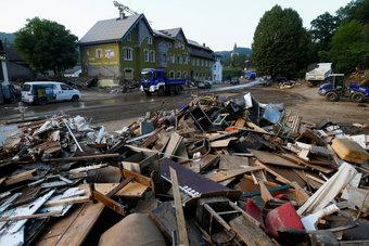 فيضانات ألمانيا تسببت بخسائر مؤمن عليها تصل قيمتها إلى 5 مليارات يورو