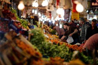 المركزي التركي يرفع توقعاته للتضخم في 2021 إلى 14%
