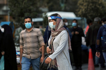 إيران تسجيل حصيلة إصابات قياسية بفيروس كورونا بسبب سلالة دلتا