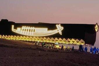 نقل مركب خوفو إلى المتحف المصري الكبير