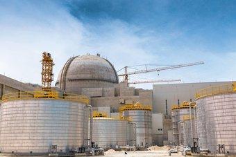 أبوظبي: بدء العمليات في مفاعل المحطة الثانية من براكة للطاقة النووية