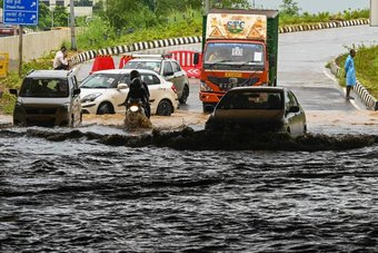 أمطار الهند