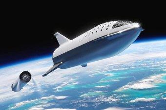 سياح الفضاء يمضون ليلتهم الأولى في مدار الأرض