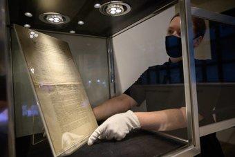 نسخة نادرة من الدستور الأمريكي للبيع مقابل 20 مليون دولار