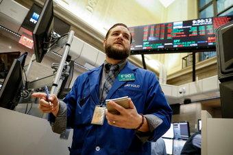الأسهم الأمريكية ترتفع بعد خسائر تسببت فيها  إيفرجراند