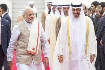 الهند والإمارات تعتزمان رفع التجارة البينية إلى 100 مليار دولار خلال 5 أعوام