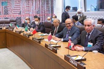 المعلمي يشارك في اجتماع اللجنة الثلاثية الوزاري لمجلس التعاون الخليجي مع وزير خارجية روسيا