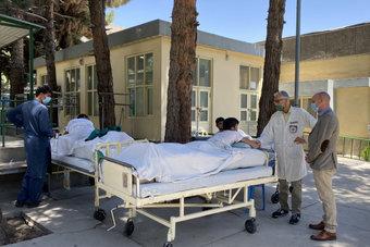 مئات المراكز الصحية مهددة بالإغلاق في أفغانستان