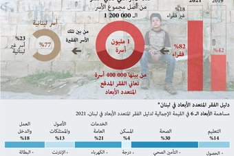 الفقر المتعدد الأبعاد في لبنان