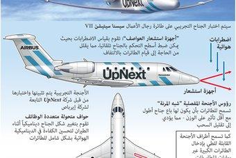 """لتقليل استهلاك الوقود.. """"إيرباص"""" تبحث تغيير شكل أجنحة الطائرات"""