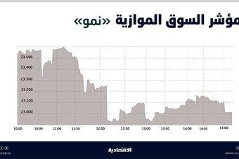 السوق الموازية تفقد 554 نقطة بتداولات قيمتها 36 مليون ريال