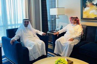 القصبي يبحث مع مجلس التعاون العمل الخليجي المشترك في مجال التجارة