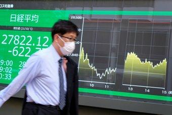 """""""نيكي"""" يهبط لقاع شهر مع تأثير مخاوف التضخم على أسهم النمو"""
